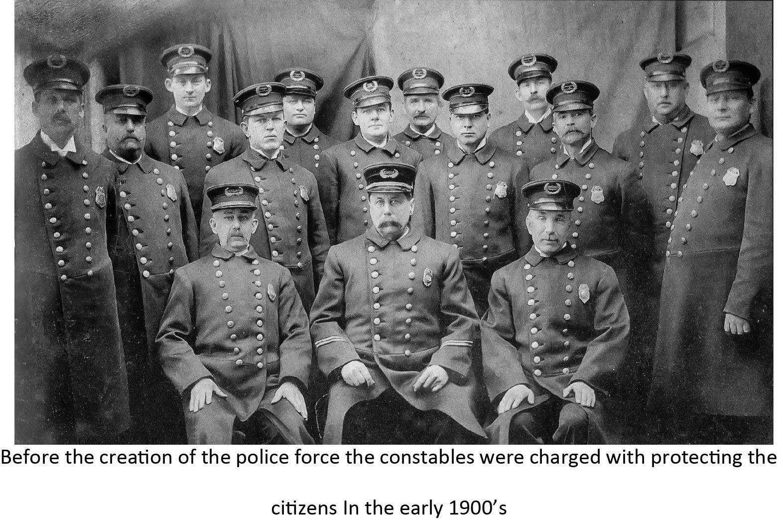 Constables early 1900s