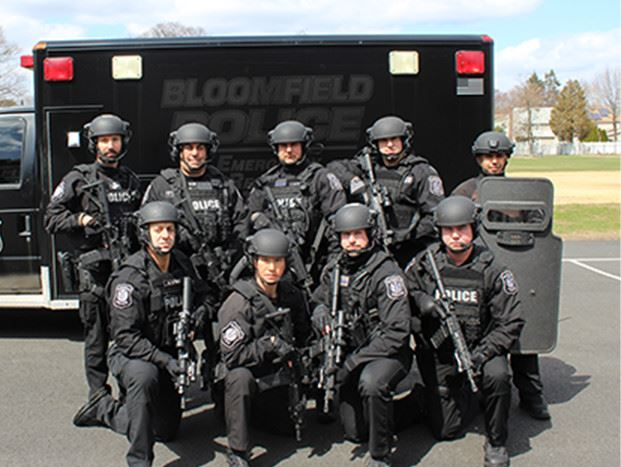 Bloomfield Police Group Photo